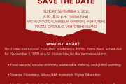 SAVE THE DATE - Ponza Prima Med (ENGLISH VERSION)
