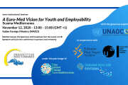 Inter-Institutional Seminar (12.11.20) on A Euro-Med Vision for Youth, Culture, and Employability: Scaena Mediterranea